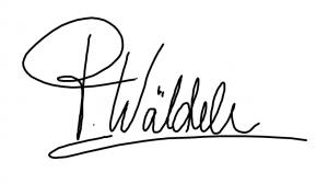 Signature Patricia Wäldele